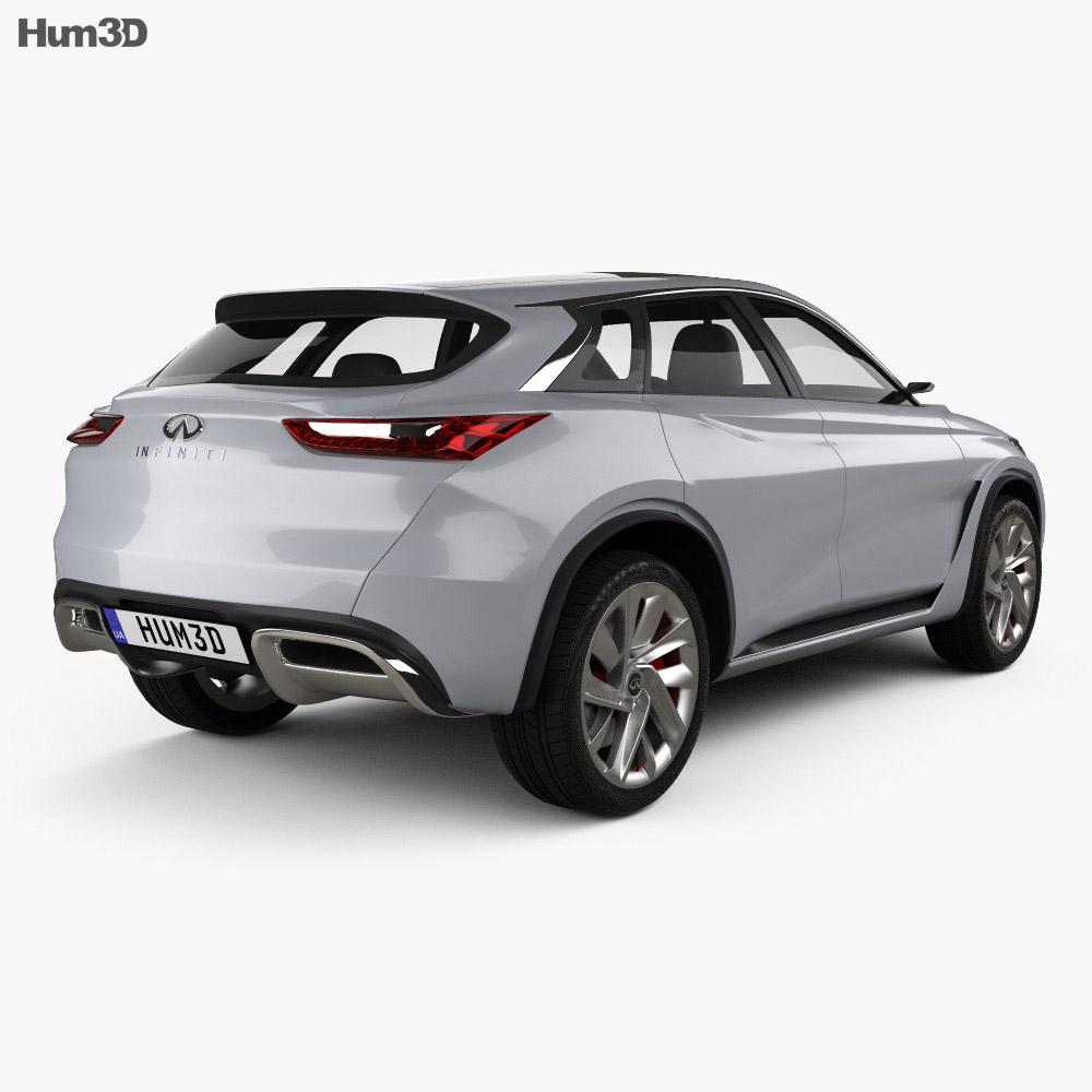 Infiniti QX Sport Inspiration 2016 3d model