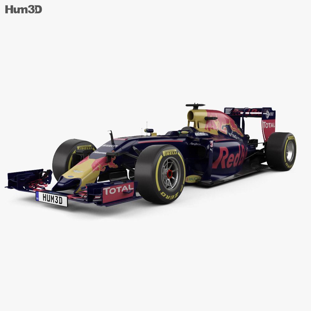 Infiniti RB12 F1 2016 3d model