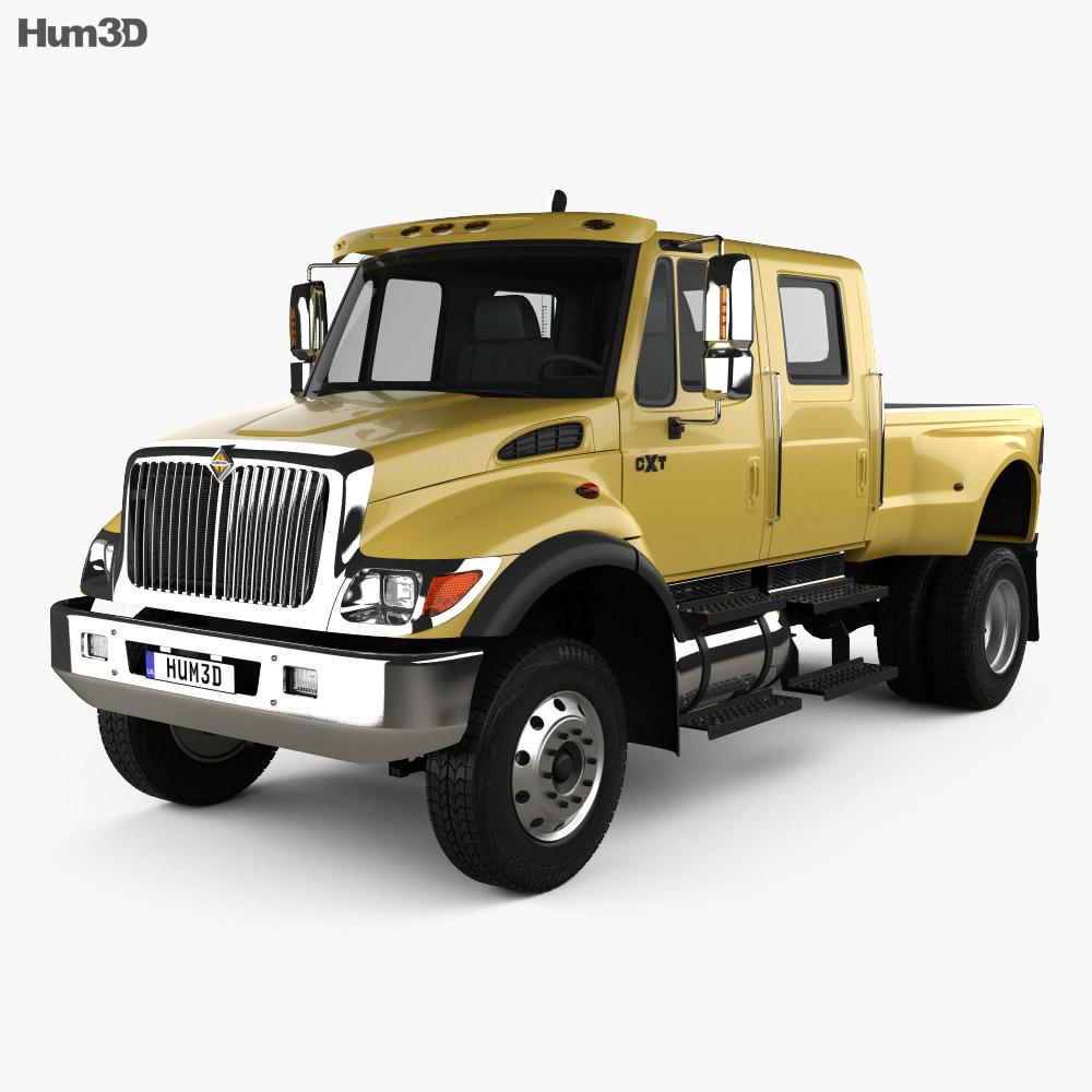 International CXT Pickup Truck 2005 3d model
