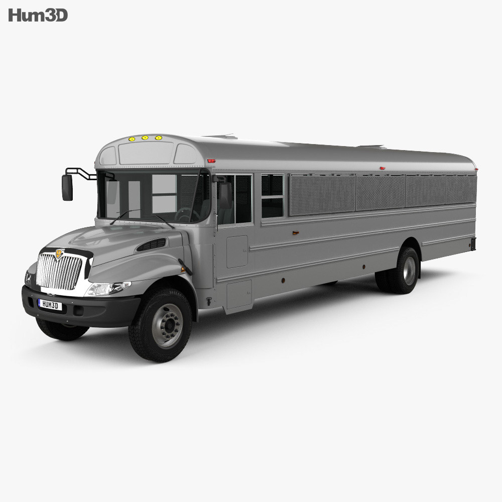 International Durastar Correction Bus 2007 3d model