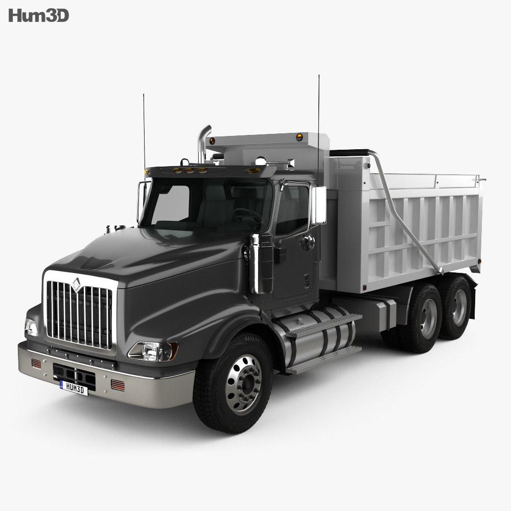 International Paystar Dump Truck 2002 3d model