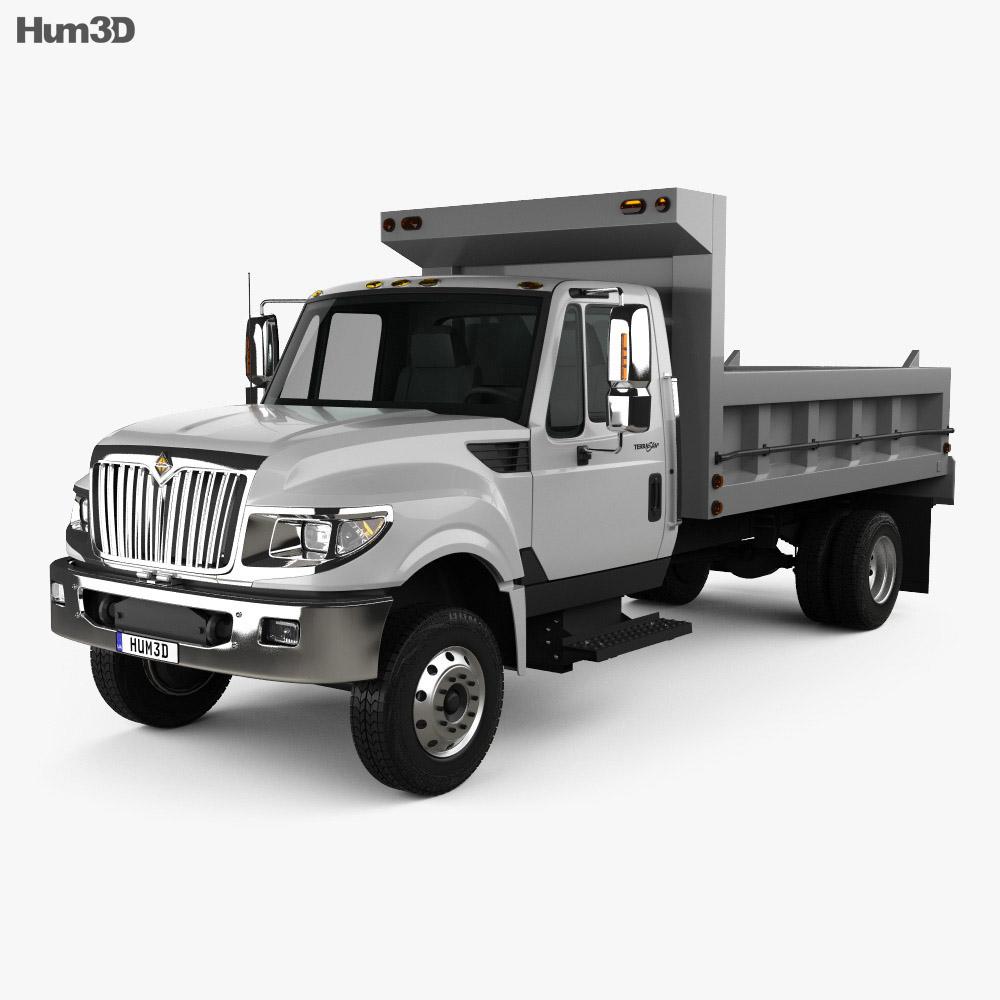 International TerraStar Dump Truck 2010 3d model