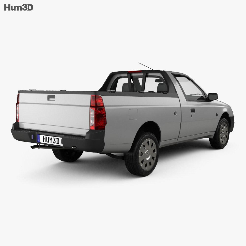 Iran Khodro Arisun 2015 3d model