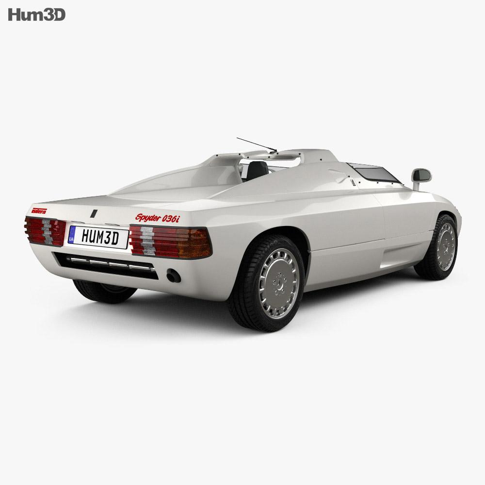 Isdera Spyder 036i 1988 3d model