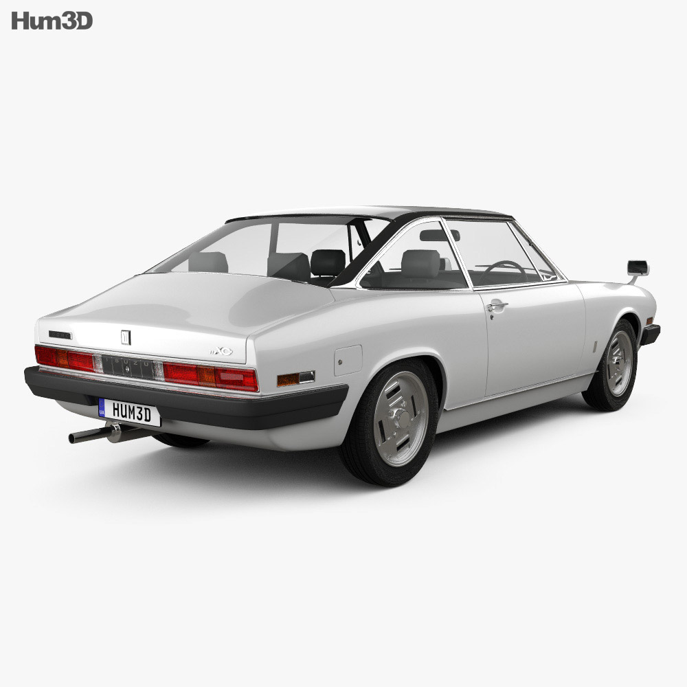 Isuzu 117 (PA90) Coupe 1977 3d model