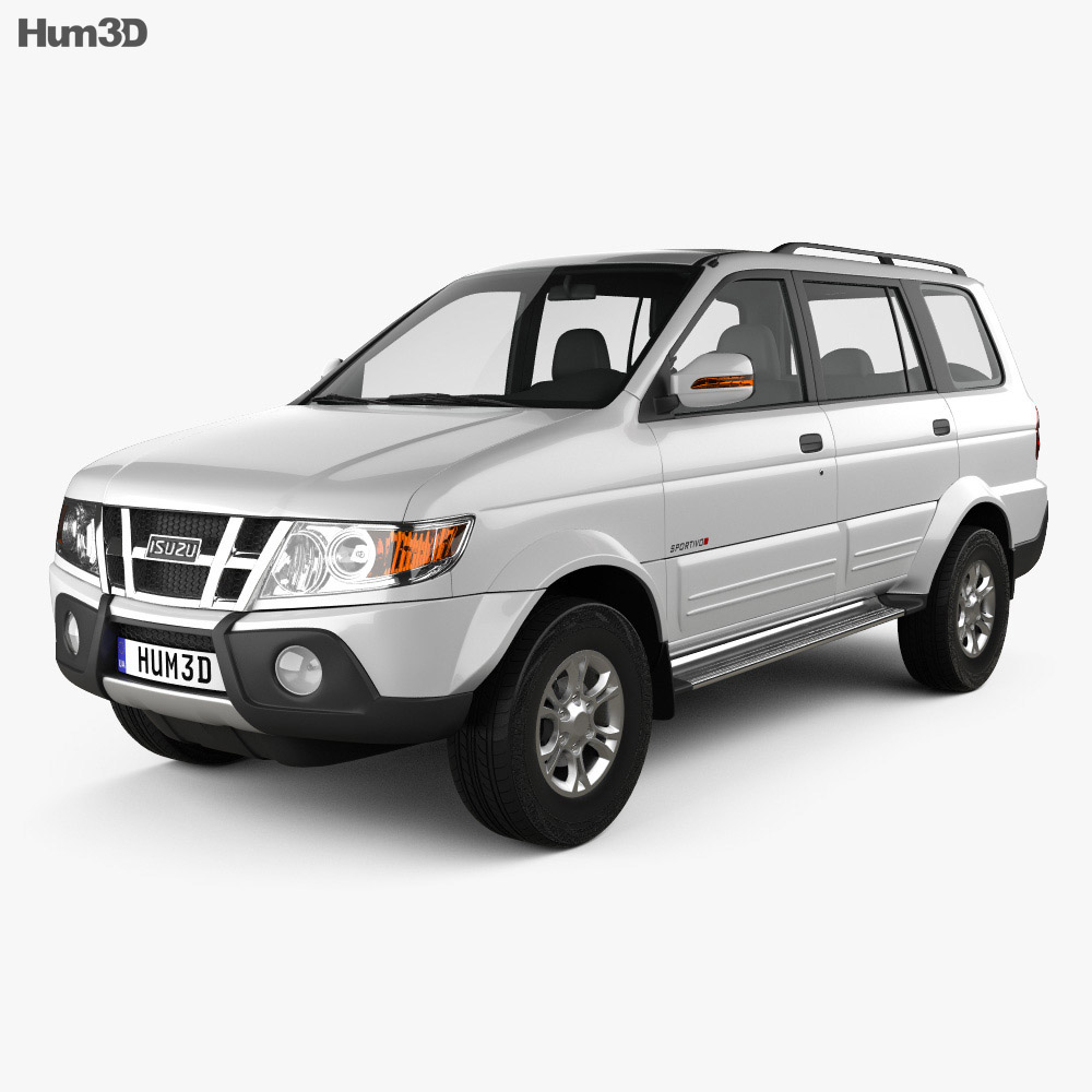 Isuzu Crosswind 2015 3d model