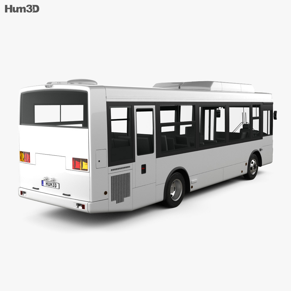 Isuzu Erga Mio L1 Bus 2019 3d model