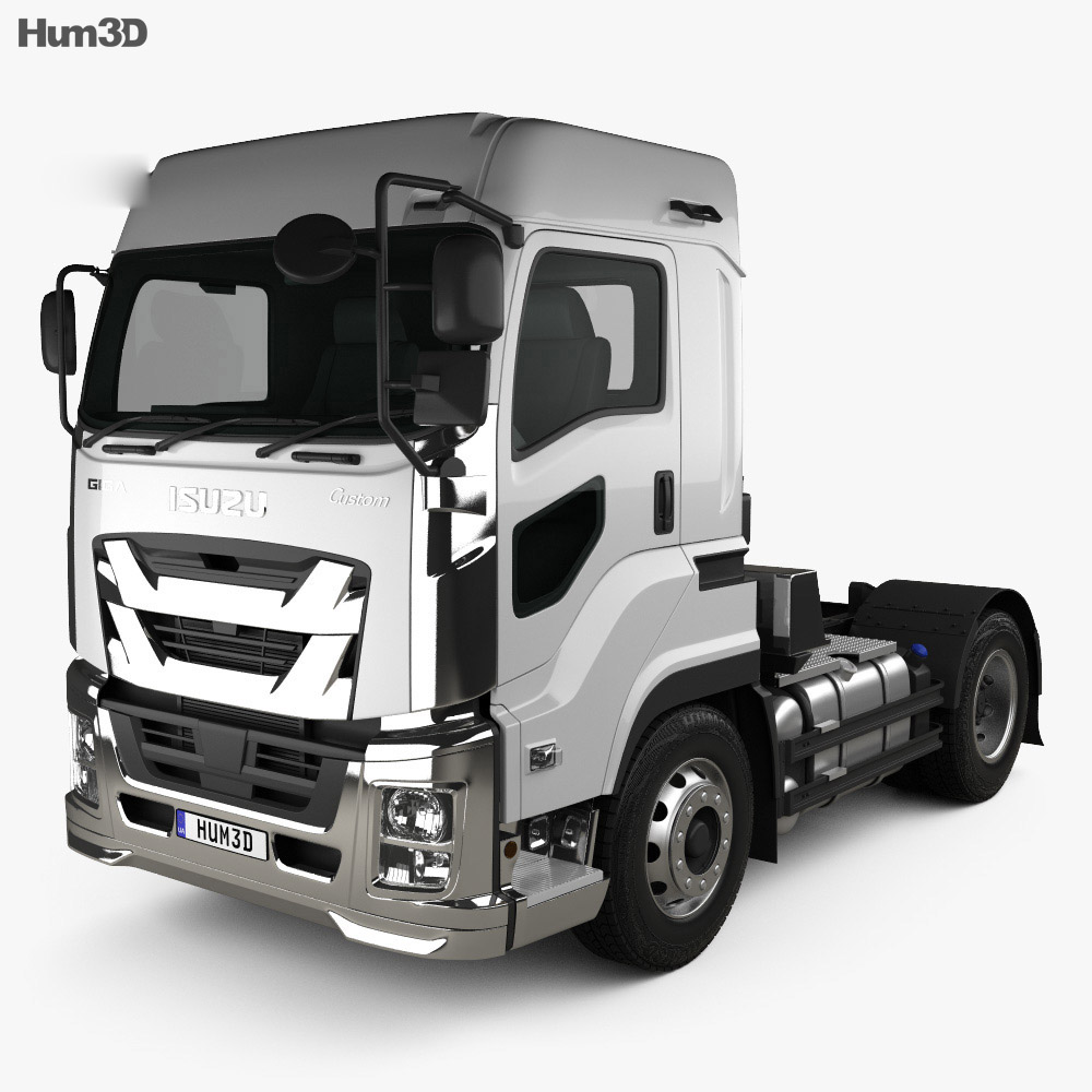 Isuzu Giga Tractor Truck 2-axle 2015 3d model