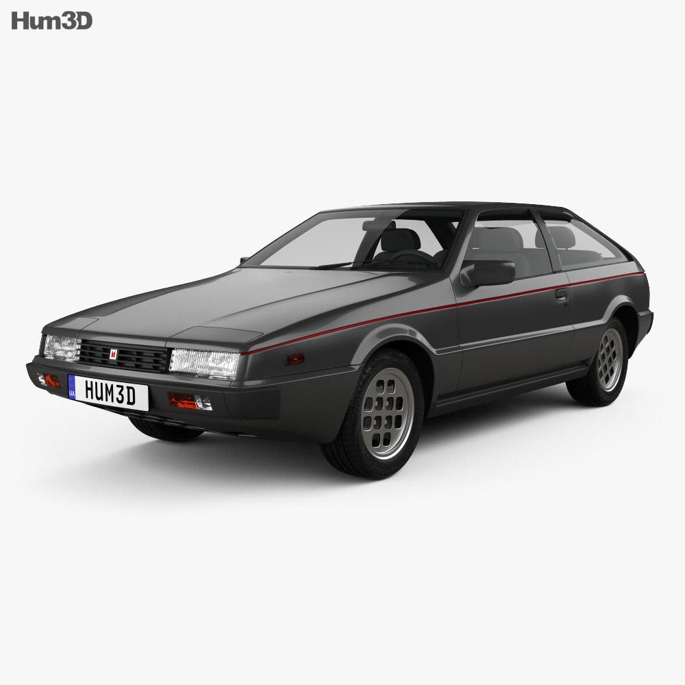 Isuzu Piazza 1981 3d model