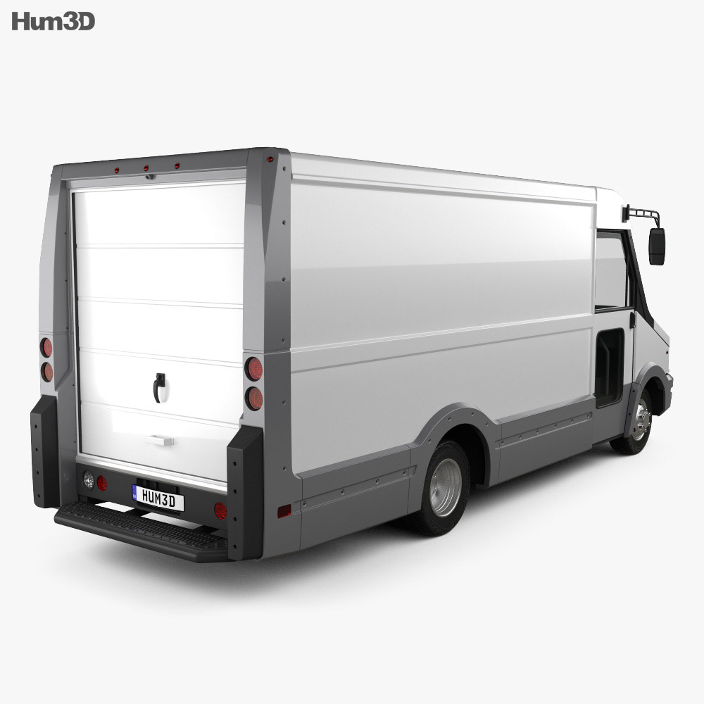 Isuzu Reach Van 2011 3d model
