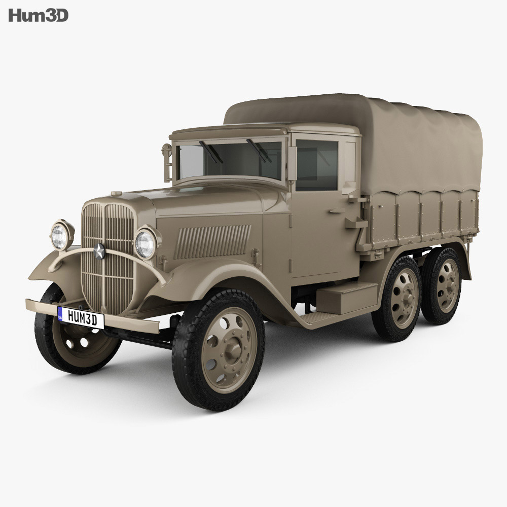 Isuzu Type 94 Truck 1934 3d model