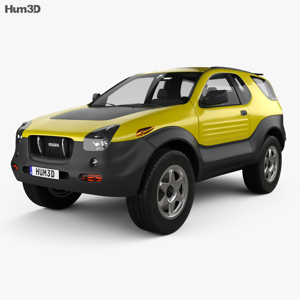 Isuzu VehiCROSS 1999 3d model