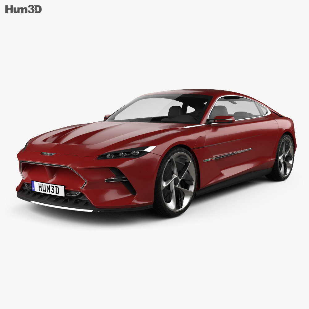 Italdesign DaVinci 2020 3d model