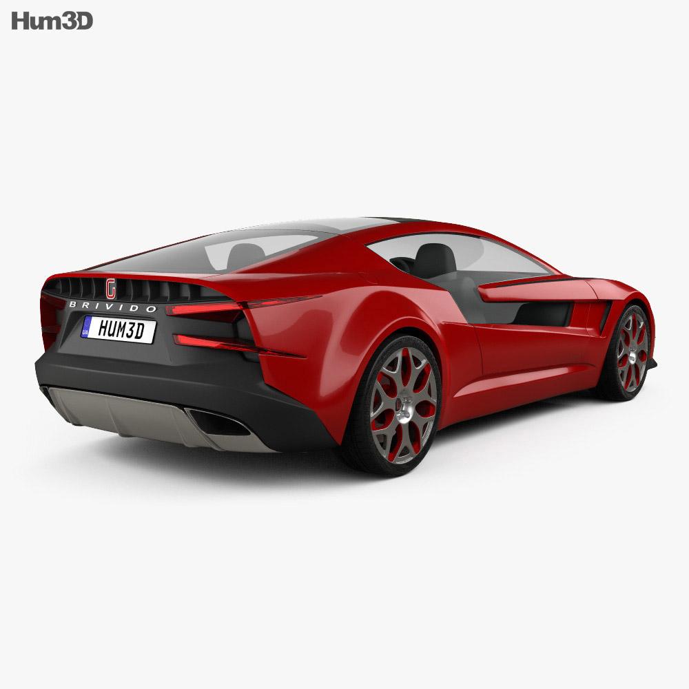 Italdesign Giugiaro Brivido 2012 3d model