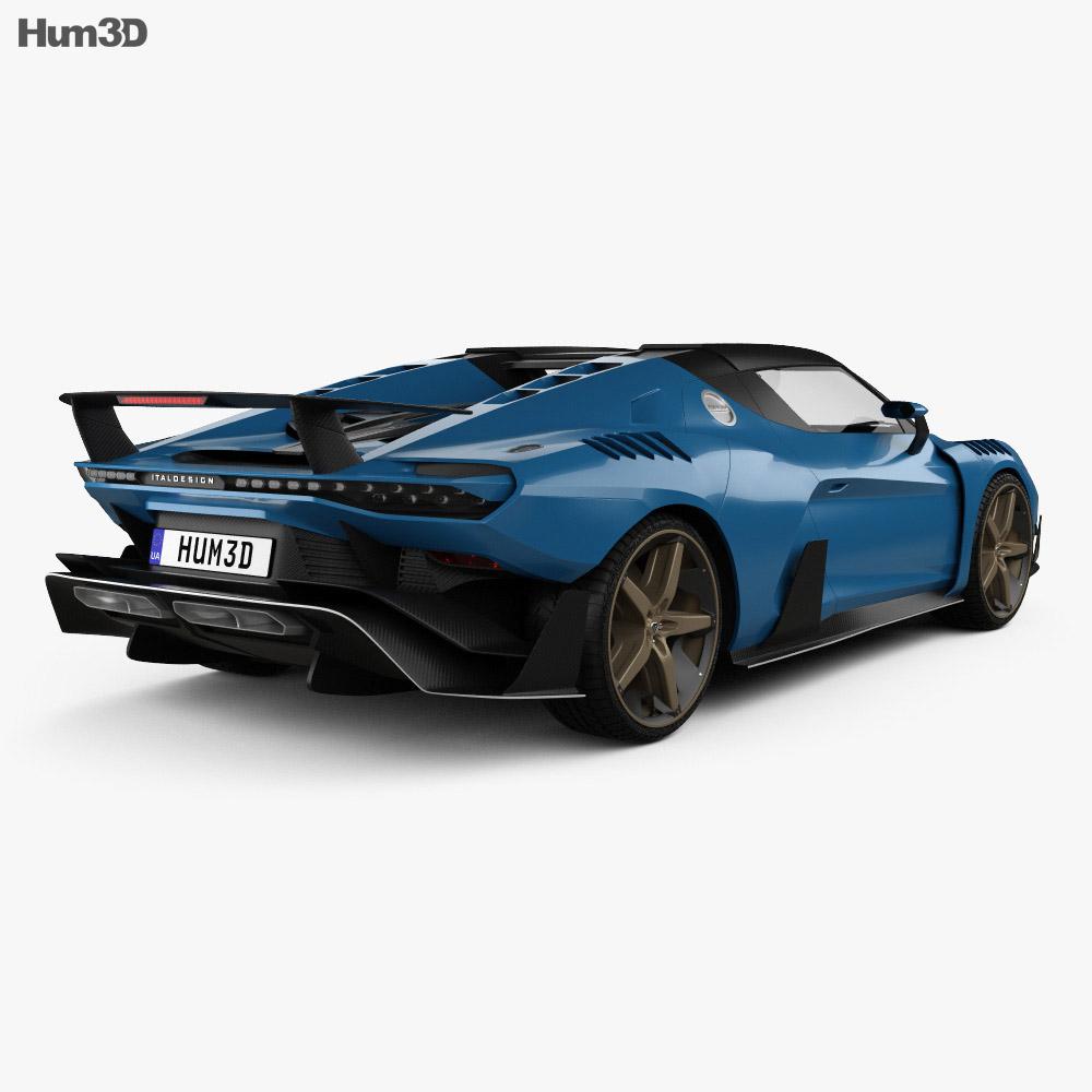 Italdesign Zerouno Duerta 2018 3d model