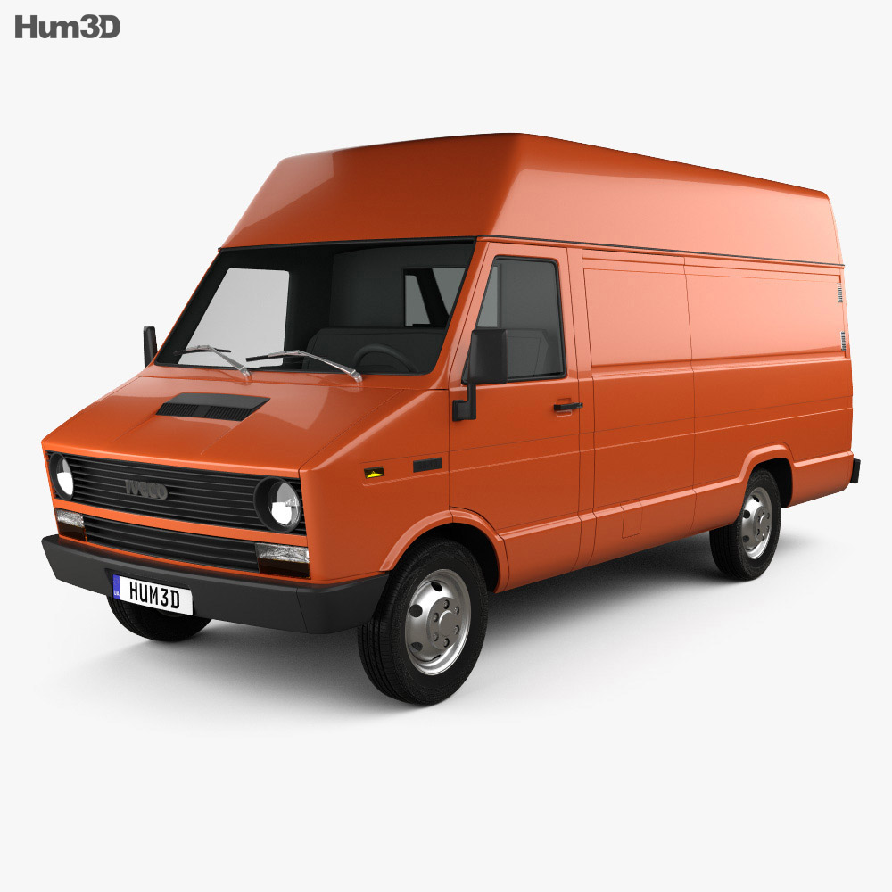 Iveco Daily Panel Van 1978 3d model