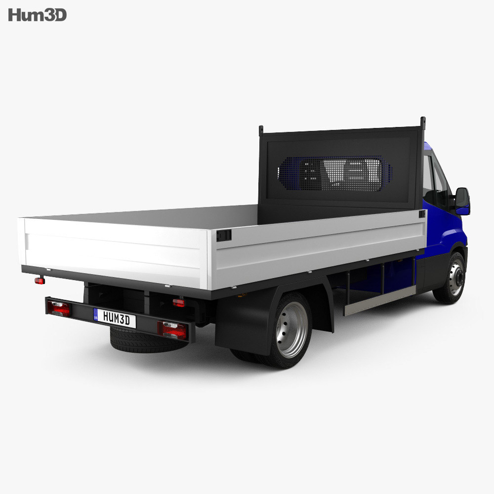 Iveco Daily Dropside 2014 3d model