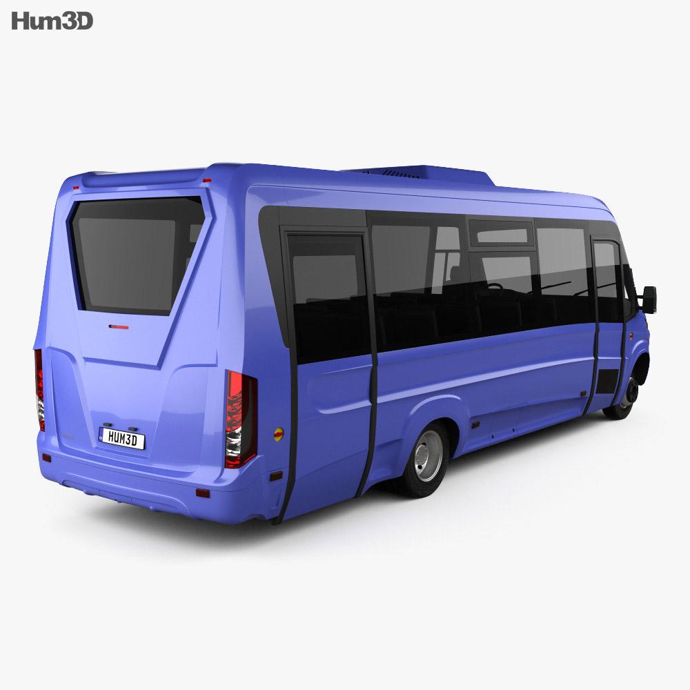 Iveco Daily VSN-700 Bus 2018 3d model