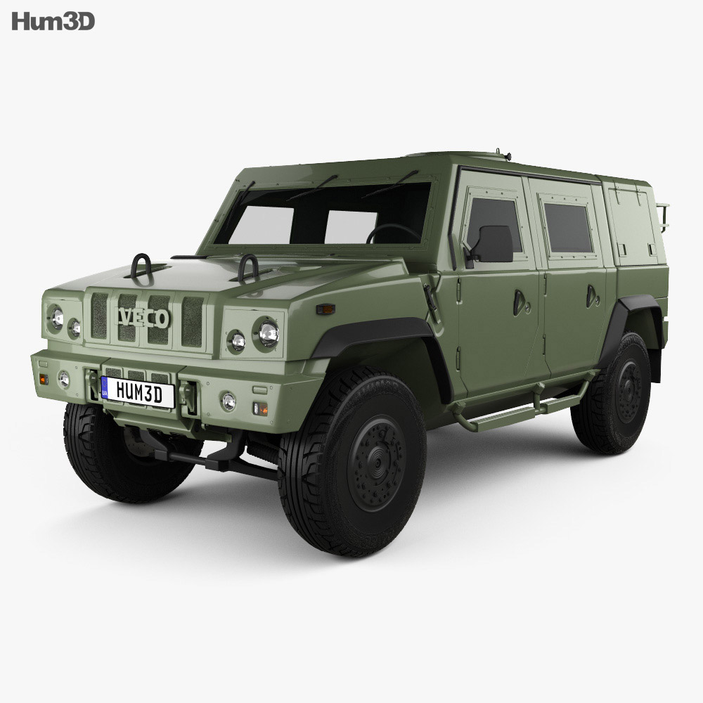 Iveco LMV (Lince) 2001 3d model