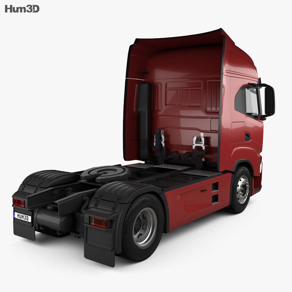 Iveco S-Way Tractor Truck 2019 3d model