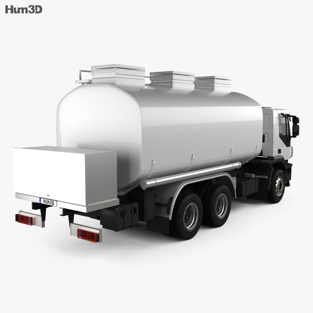 Iveco Trakker Fuel Tank Truck 2012 3d model