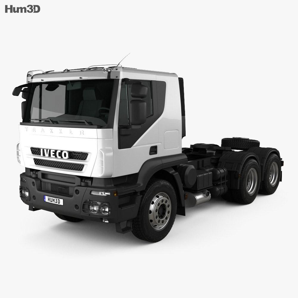 Iveco Trakker Tractor 2012 3d model