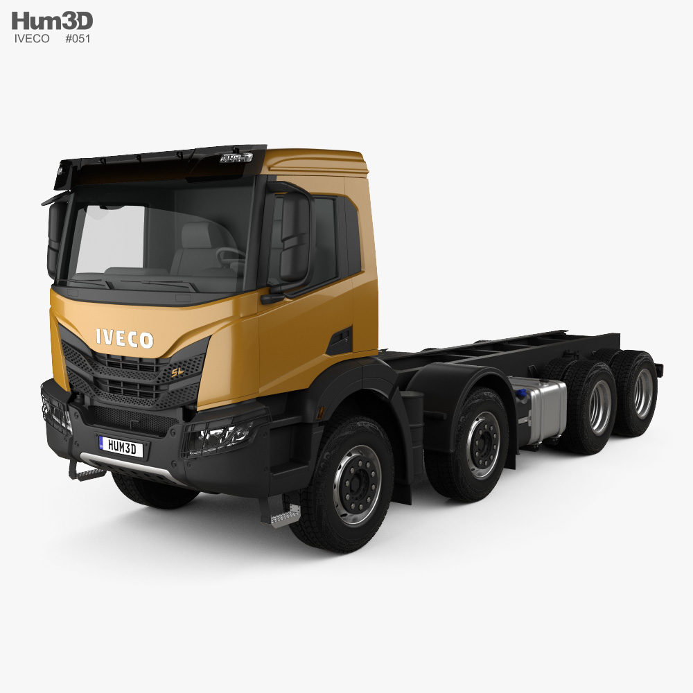 Iveco X-Way Chassis Truck 2020 3d model