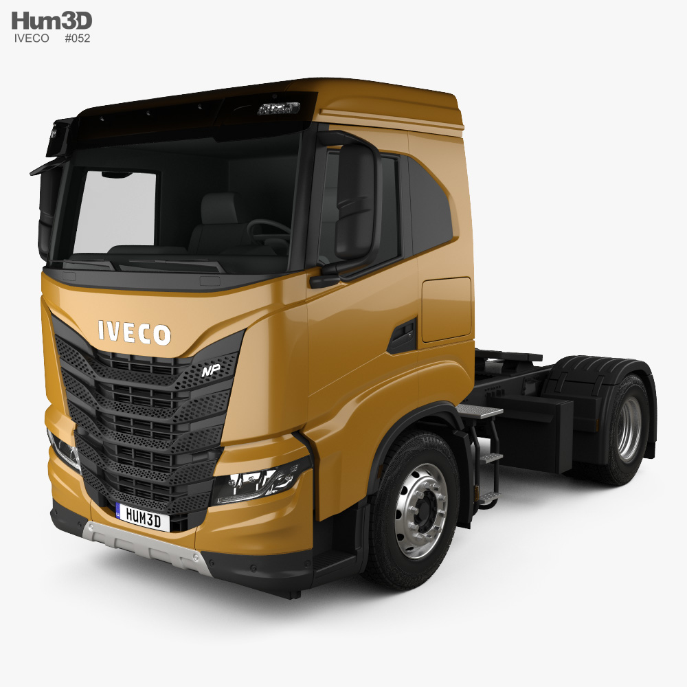 Iveco X-Way Tractor Truck 2020 3d model