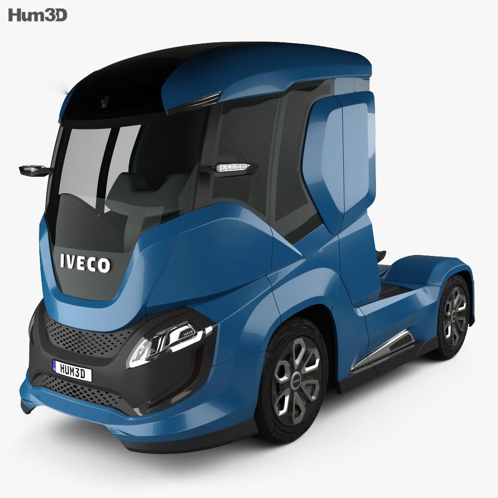 Iveco Z Truck 2016 3d model
