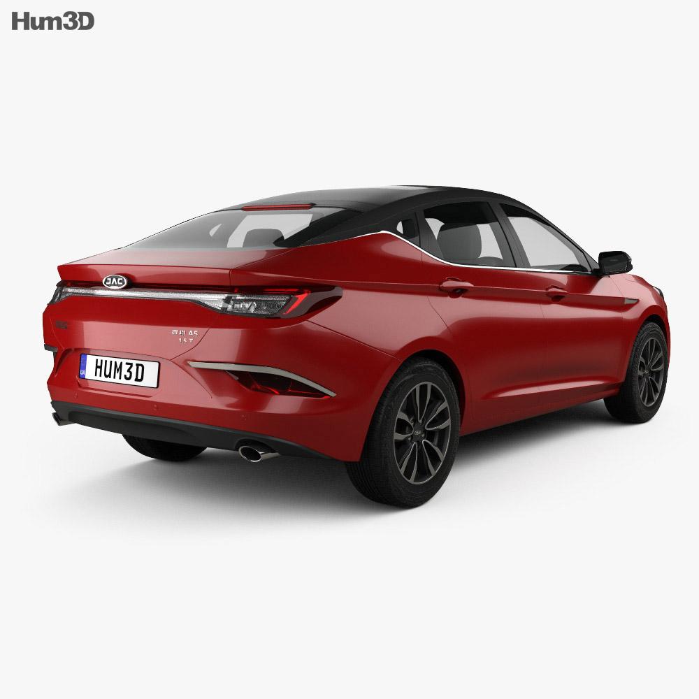 JAC A5 2019 3d model