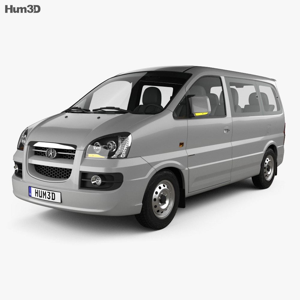 JAC Refine II 2006 3d model