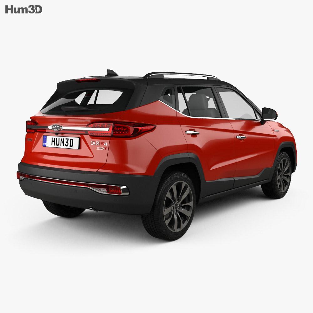 JAC Refine S4 2018 3d model
