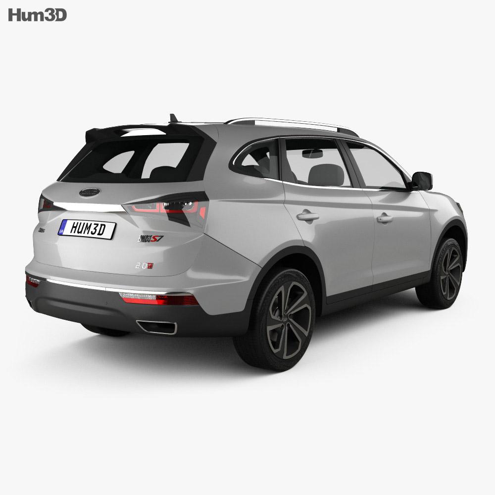 JAC Refine S7 2017 3d model