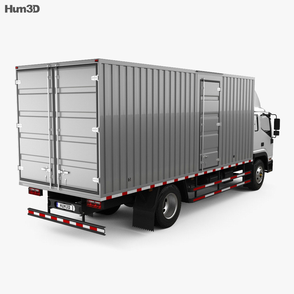 JAC Shuailing W Box Truck 2013 3d model