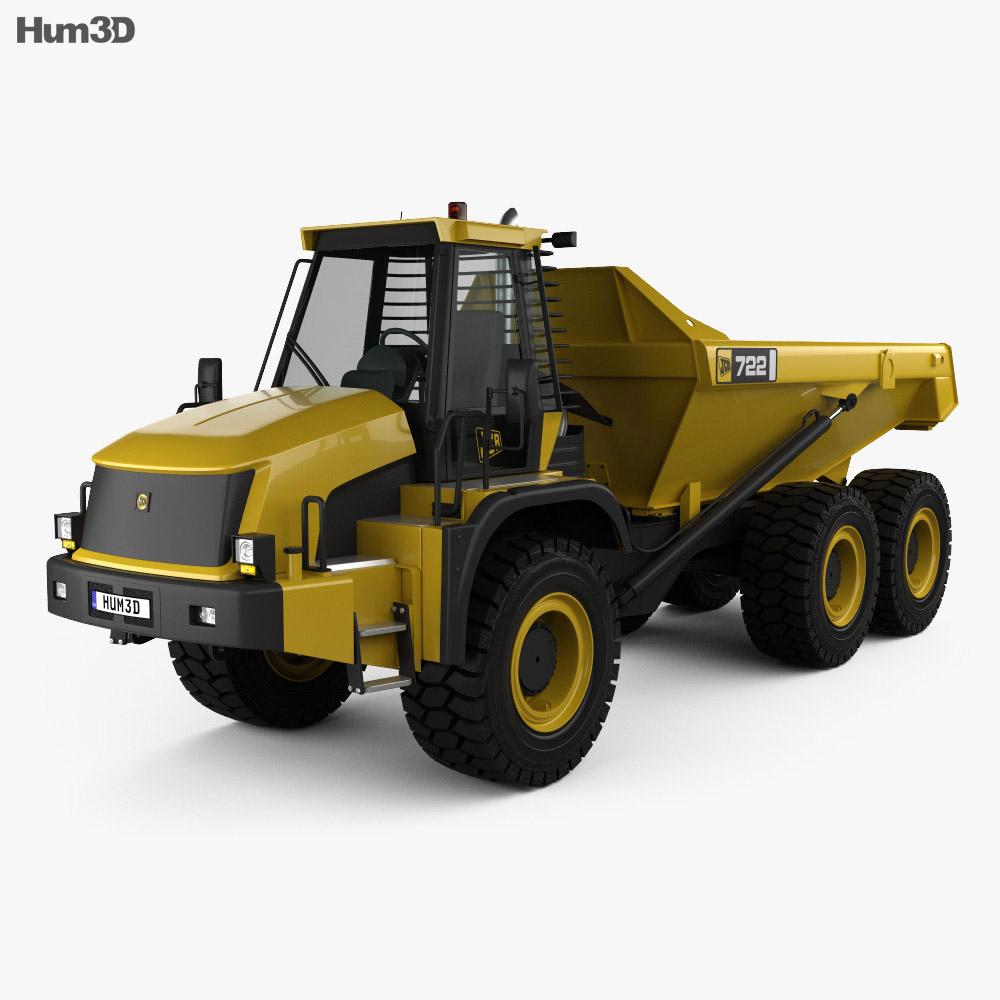 JCB 722 Dump Truck 2012 3d model