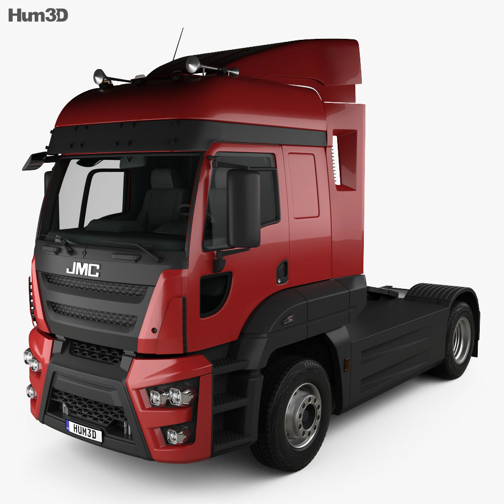 3D model of JMC Veyron Tractor Truck 2019