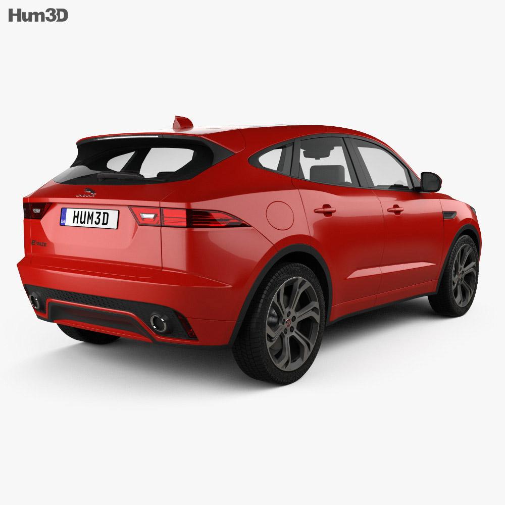Jaguar E-Pace R-Dynamic 2017 3d model