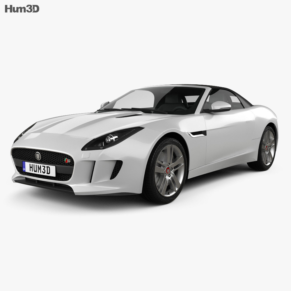 Jaguar F-Type S convertible 2013 3d model