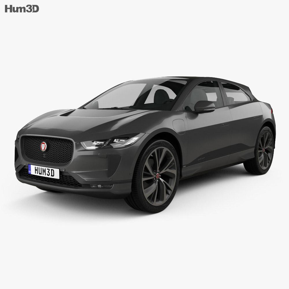 Jaguar I-Pace EV400 HSE 2019 3d model