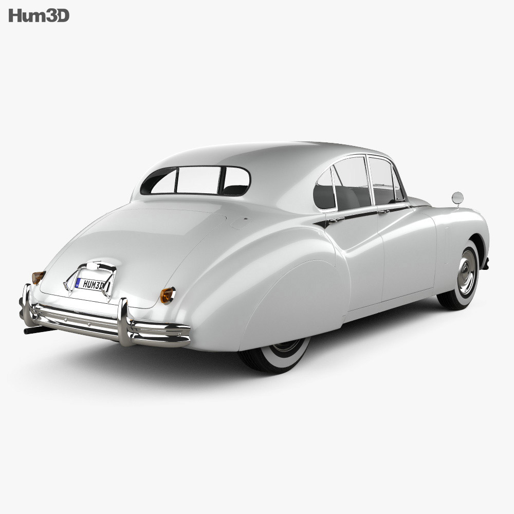 Jaguar Mark VII 1951 3d model