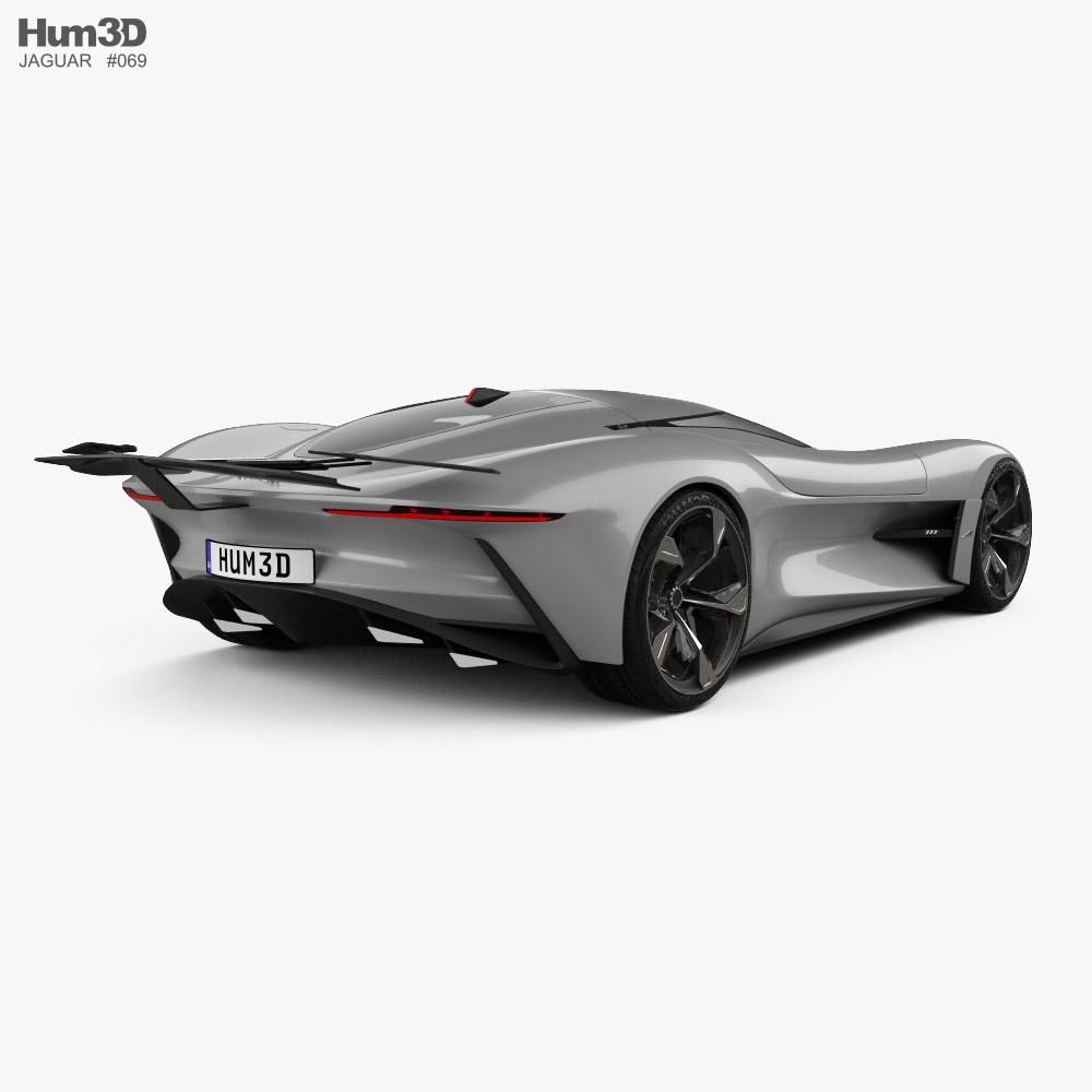 Jaguar Vision Gran Turismo coupe 2020 3d model