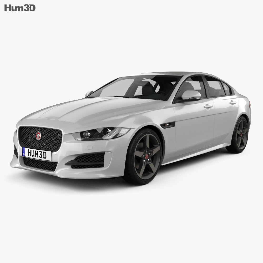 jaguar xe r sport 2017 3d model hum3d. Black Bedroom Furniture Sets. Home Design Ideas