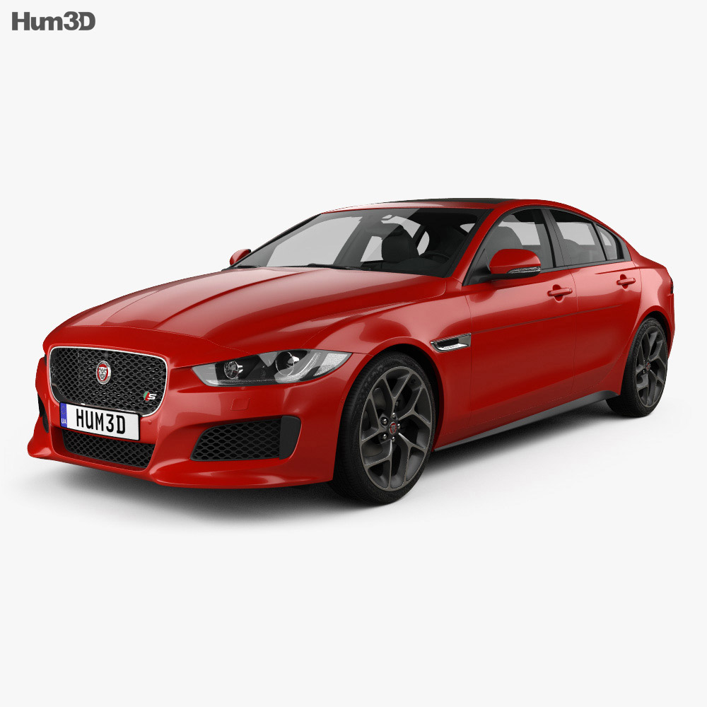 Jaguar XE S 2015 3d model