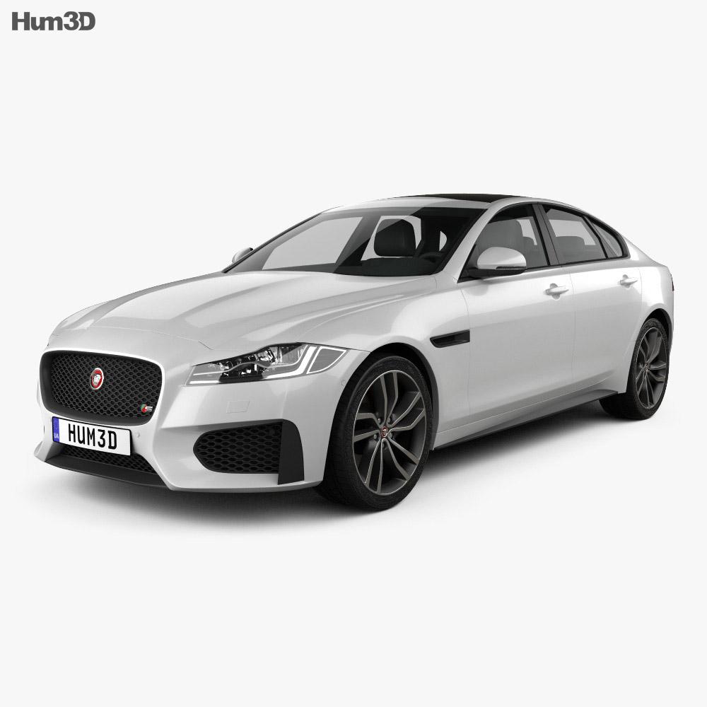 Jaguar Xf New Price >> Jaguar XF S 2016 3D model - Humster3D