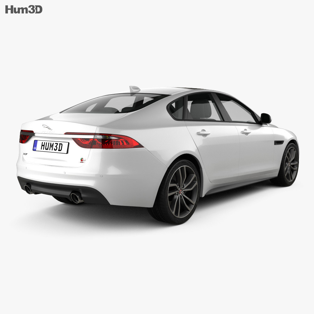 Jaguar XF S 2016 3d model