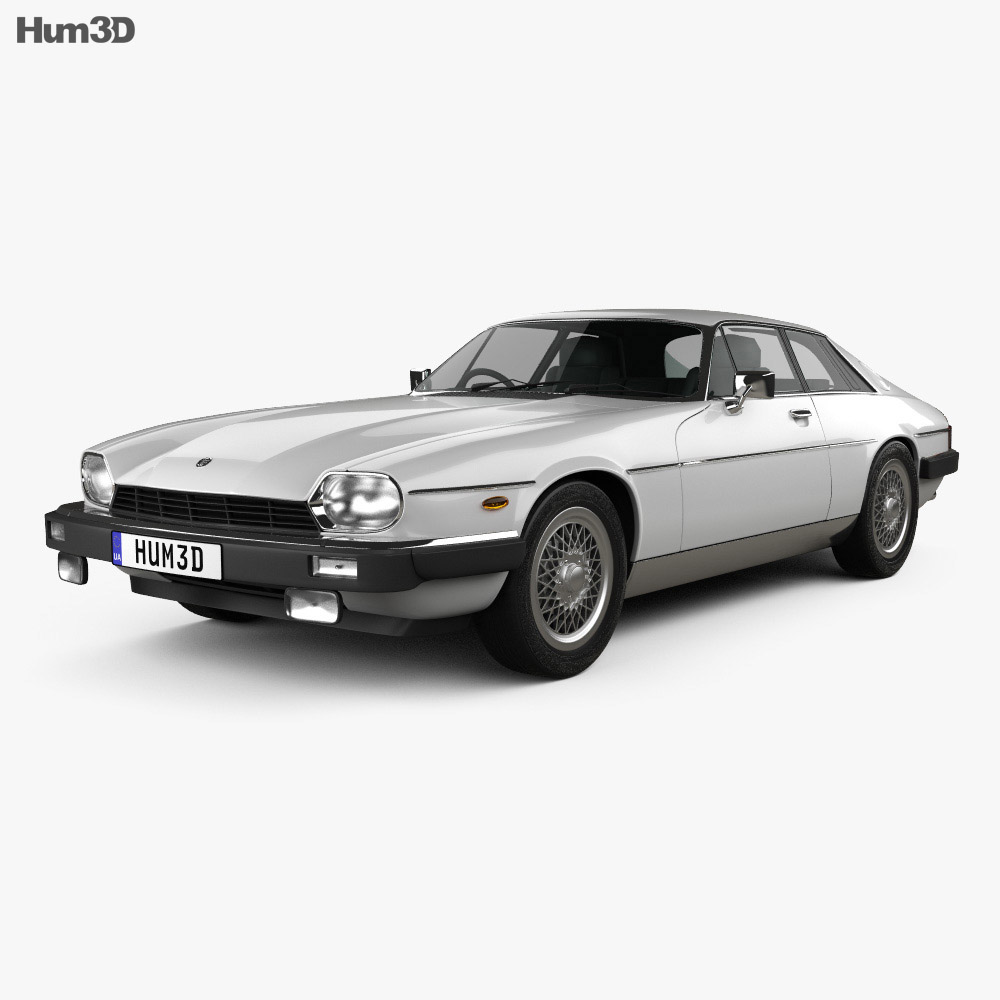 Jaguar XJ-S coupe 1975 3d model