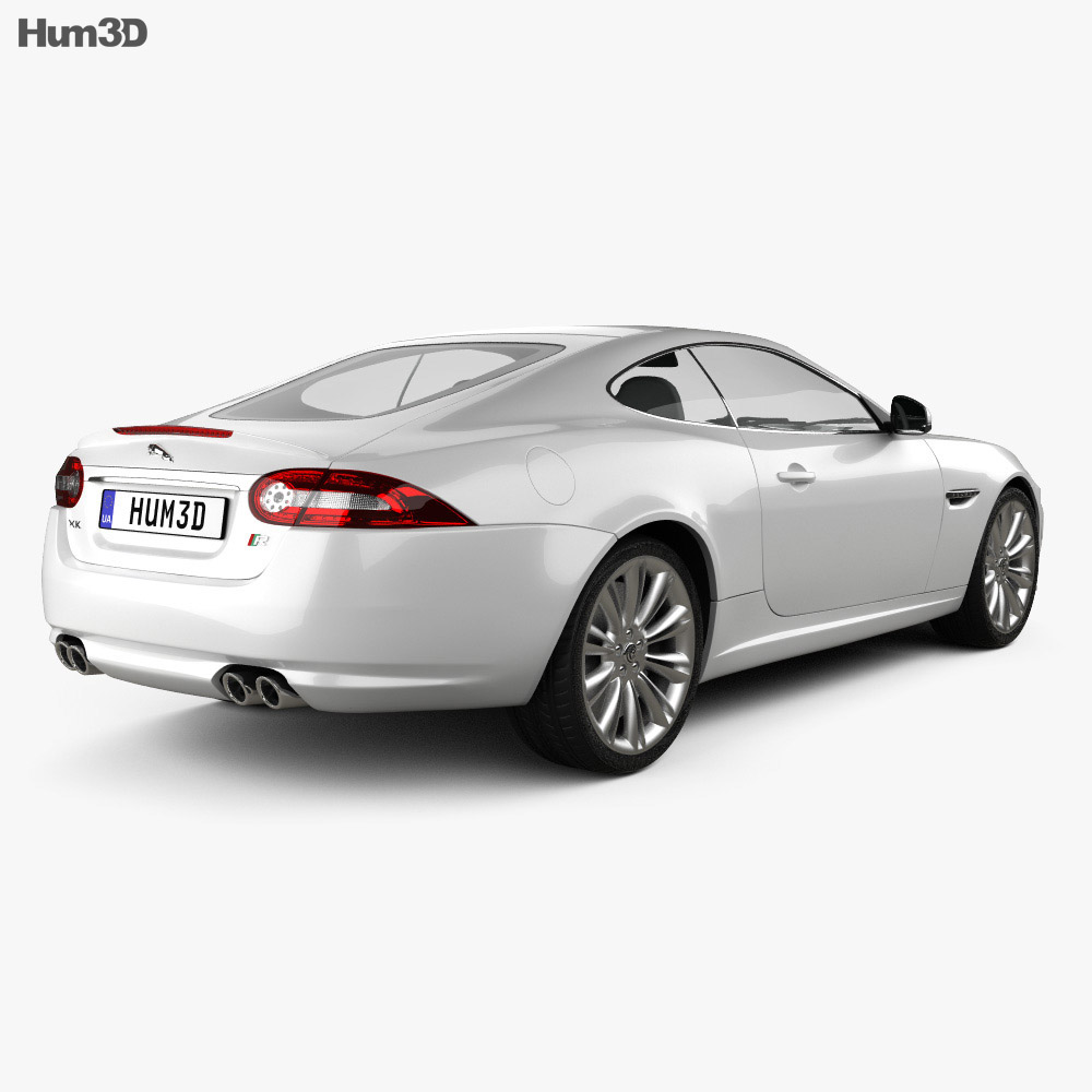 Jaguar XKR (X150) 2012 3d model