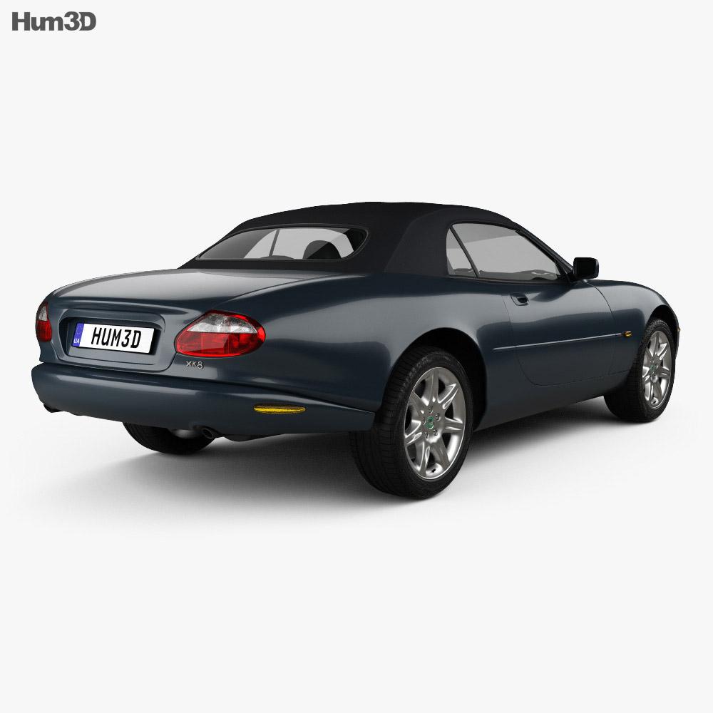Jaguar Xk Convertible: Jaguar XK8 Convertible 1996 3D Model