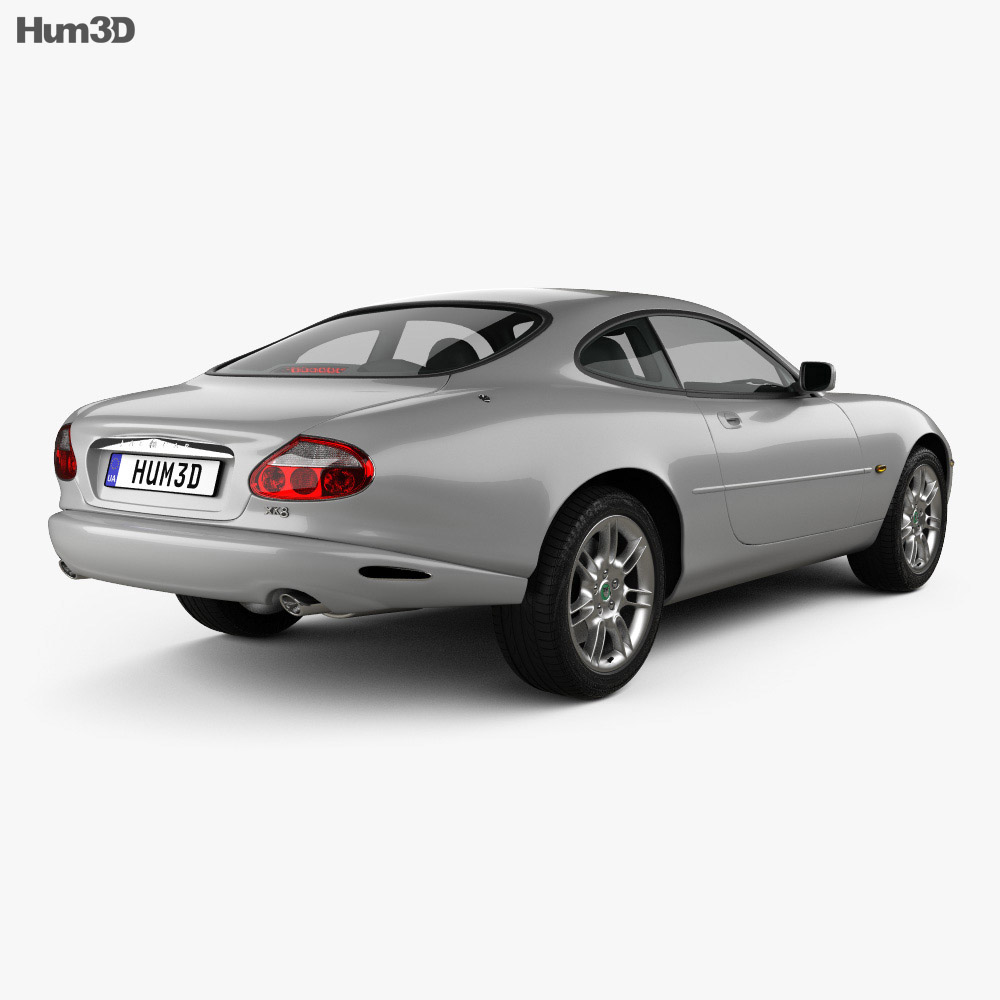 Jaguar XK 8 coupe 1996 3d model