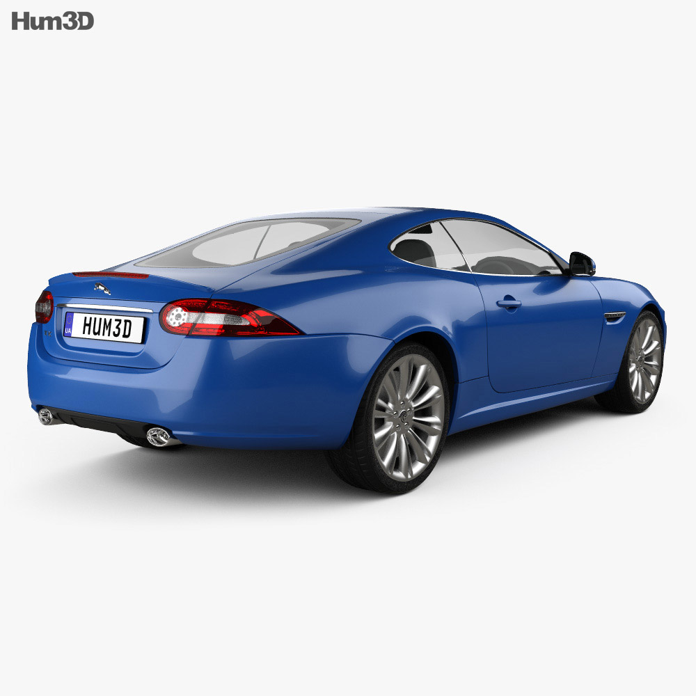 Jaguar XK coupe 2011 3d model